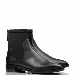 Tory Burch Black leather ankle booties